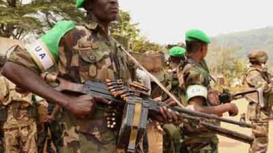 AU-troops