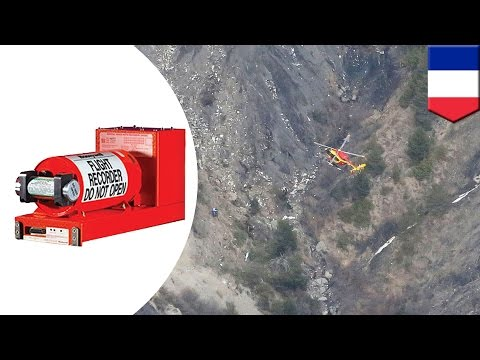 Germanwings plane crash in France: Black box cockpit voice recorder recovered. Image source article.wn