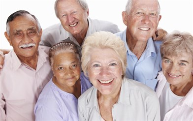 Group of older people. Image source blaby