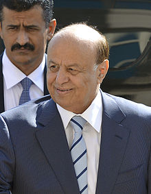 Yemen president, Abd Rabbuh Mansour Hadi. Image source wikipedia