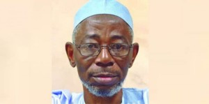 The late Abubakar Gimba, author of the famous, Witnesses To Tears, Sunset For A Mandarin, Sacred Apples, Footprints among other titles. Image source EbonyLive tv