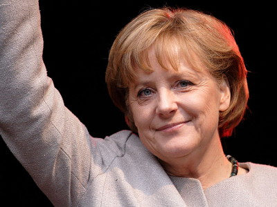 Angela Merkel.  PHOTO: Wikipedia