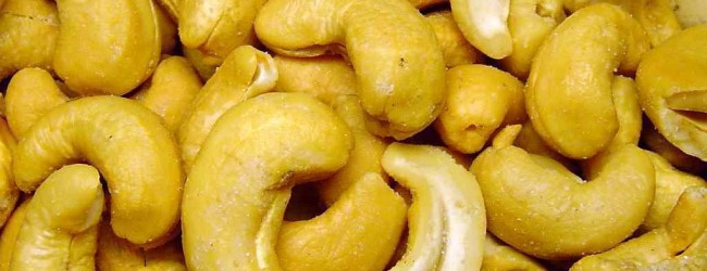 Cashew Nut as an agricultural produce in Nigeria. Image source bizwatchnigeria