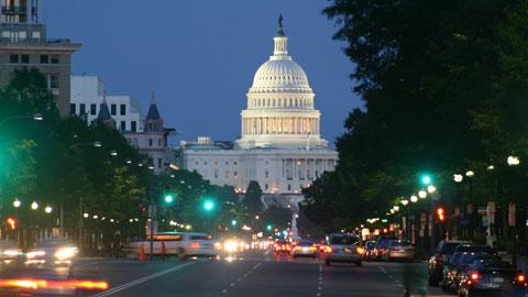Washington DC, USA. Image source omm