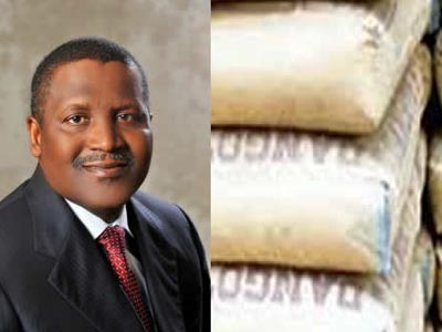 Dangote's new cement