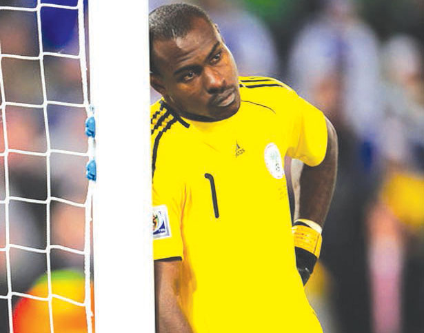Vincent Enyeama not part of  Super Eagles' trip to South Africa due to injury