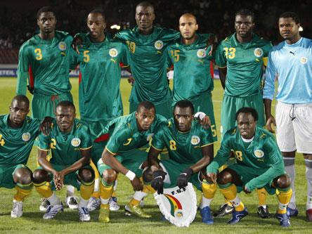 Senegal natiojnal football team. Image source starafrica