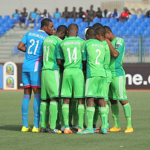 Nigeria's Flying Eagles match against Ghana, yesterday in Dakar, Senegal. Image source  supersport