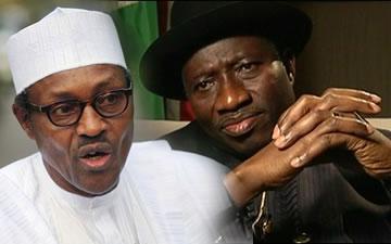 Buhari and Jonathan. Image source Blackmagic