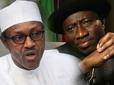 Goodluck Jonathan and Gen. Muhammadu Buhari-image source iCampus