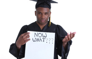 A puzzled unemployed graduate. Image source campusdelight