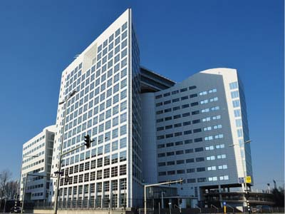 ICC headquarters, Hague. Image source wikipedia