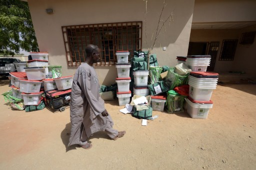 "Mr Habu Zarma, Resident Electoral Commissioner in Yobe, on Sunday said INEC had postponed elections indefinitely in 18 polling units in Giedam Local Government Area of the state due to security challenges. He told newsmen in Damaturu that security challenges in the council area had scared adhoc staff from going to conduct election in the affected units on Saturday and Sunday. ""Elections could not hold in those areas on Saturday and Sunday due to security challenges. ""The commission will meet to consider the position of the affected units,"" the commissioner said. The News Agency of Nigeria (NAN) reports that rescheduled elections were ongoing in 18 polling units in Fika, Potiskum and Yunusari Local Government Areas on Sunday. The commissioner said the elections were shifted in 10 polling units in Fika, four in Potiskum and and four in Yunusari Local Government Areas due to late delivery of electoral materials. ""The elections are currently taking place peacefully in the affected polling units in the three Local Government Areas except Giedam,"" Zarma said. NAN also reports that the Presidential and National Assembly elections were conducted peacefully in other council areas on Saturday across the state."
