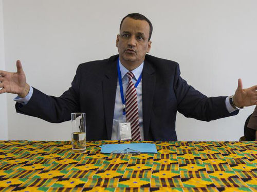 UNMEER head Ismail Ould Cheikh Ahmed. UN Photo/Martine Perret. Source: http://www.un.org/