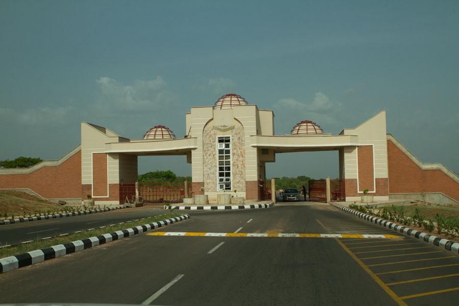 The entrance of Kwara State University, Kogi