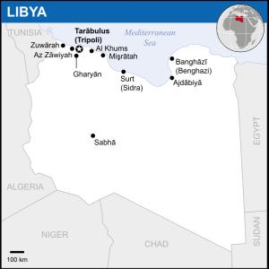 Libya_-_Location_Map