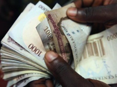 The Nigerian currency, Naira