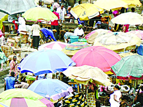The Old look of Oyingbo Market