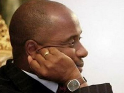 Governor  Chibuike Amaechi who was almost attacked by irate youths in Rivers state . Image source icampusng