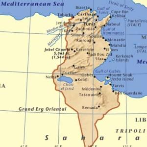Tunia Map