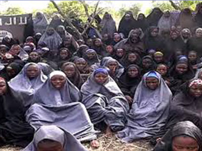 The abducted Chibok girls