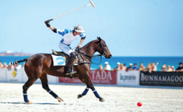 The Eko Atlantic will host West Africa's first beach polo tournament from today to Sunday, March 22.