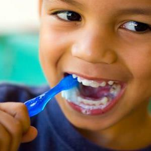 Oral Health Day by kid. Image source georgeherald