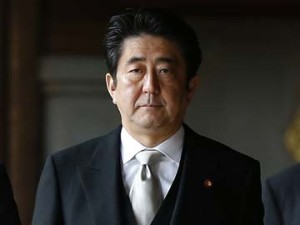 Japans Prime Minister Shinzo Abe. Image source   ndtv