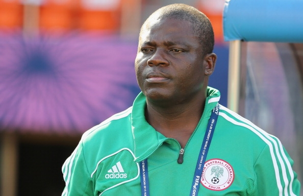 SUPER Falcons' Chief Coach, Edwin Okon. Image source Goal