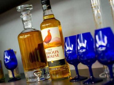 Scoth Whiskey, Famous Grouse. Image source businessinsider