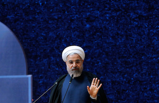 Iranian President,President Hassan Rouhani.