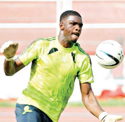 Daniel Akpeyi says he wants to become Nigeria's number one goalkeeper.