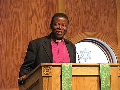 The Primate of all Nigeria Anglican Communion, the Most Rev. Nicholas D. Okoh