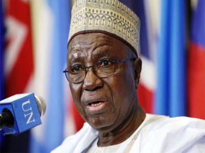 Minister of Foreign Affairs, Ambassador Aminu Bashir Wali