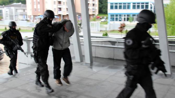 BOSNIA-POLICE-ISLAMISTS-RAID