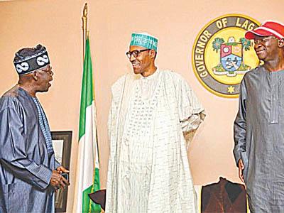 Tinubu, Buhari and Fashola