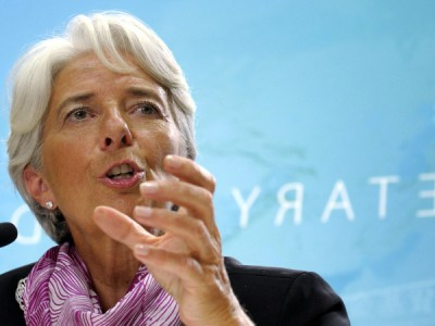 International Monetary Fund Managing Director, Christine Lagarde