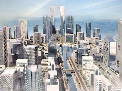 A model of Eko Atalantic City