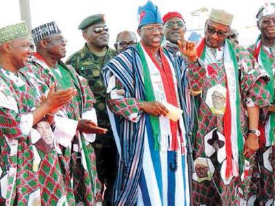 Jonathan and Muazu (PDP memebers)