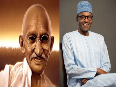 Gandhi and buhari