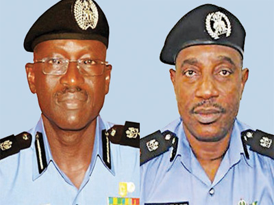 Abba (left), the new IGP Arase (right)