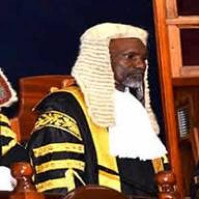 The Chief Justice of Nigeria, Justice Mahmud Muhammed