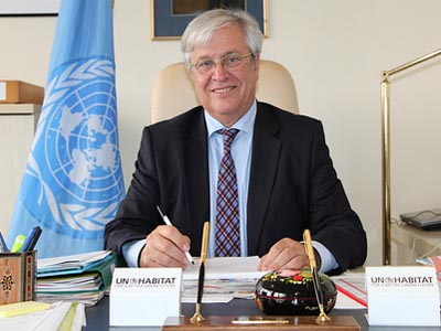UN-Habitat Executive Director Dr. Joan Clos.