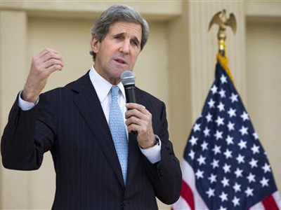 US Secretary of State, John Kerry