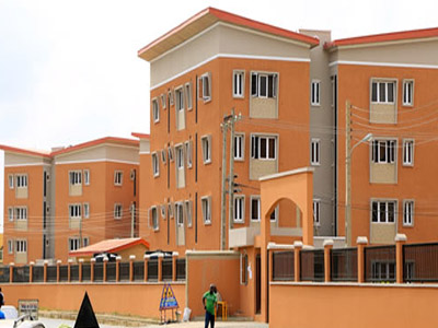 Already completed Lagos Homs estate at Sogunro