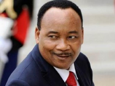 President of Niger Republic, Mahamadou- image source koulouba