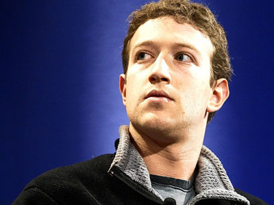 Facebook founder, Mark Zuckerberg