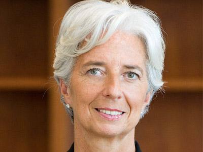 IMF Managing Director, Lagarde