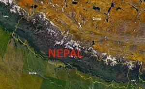 """NASA Landsat 7 Nepal"" by Originally uploaded by Tatiraju.rishabh (Transferred by Okino) - Originally uploaded on en.wikipedia. Licensed under Public Domain via Wikimedia Commons."