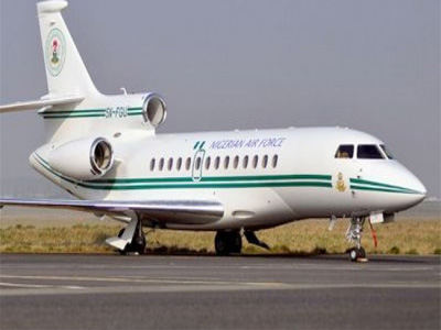 One of the jets in the fleet. PHOTO: flynaija.com
